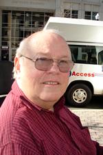 ECNV Peer Mentor Ed McEntee and MetroAccess