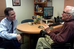 Tony and ECNV Executive Director David Burds