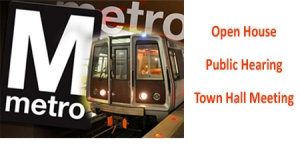 Metro logo and train