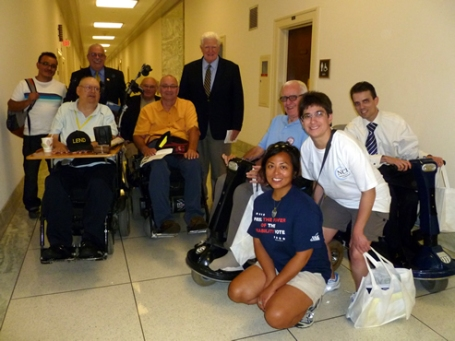 ECNV staff, Congressmen Moran and Connolly
