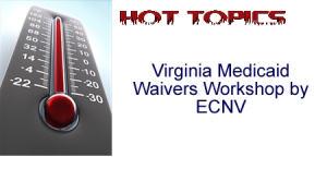 Hot Topics! Virginia Medicaid Waivers Workshop by ECNV