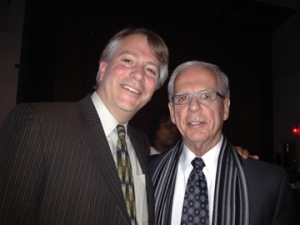 ECNV Executive Director Brewster Thackeray with former Congressman Tony Coelho at the AAPD Leadership Awards Gala.