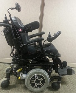 black power chair