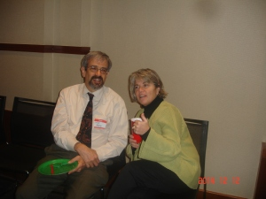 Steve Yaffe and Bryna Helfer